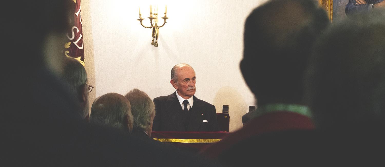 Toma de posesión como Académico Correspondiente de Felipe Morenés y de Giles