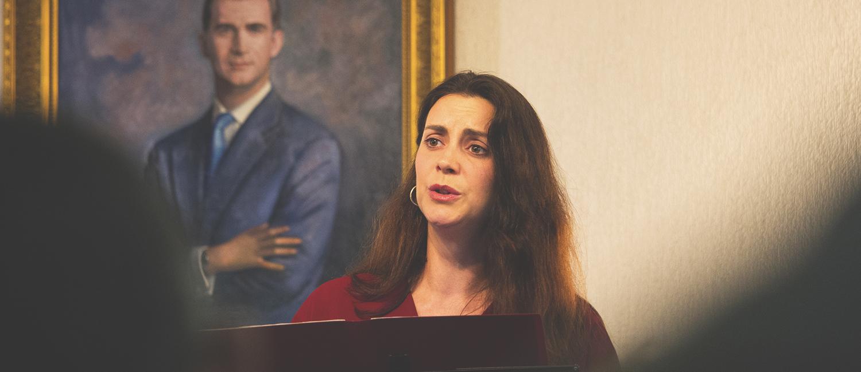 La soprano Estefanía Canseco lleva la Navidad a la Real Academia de San Dionisio