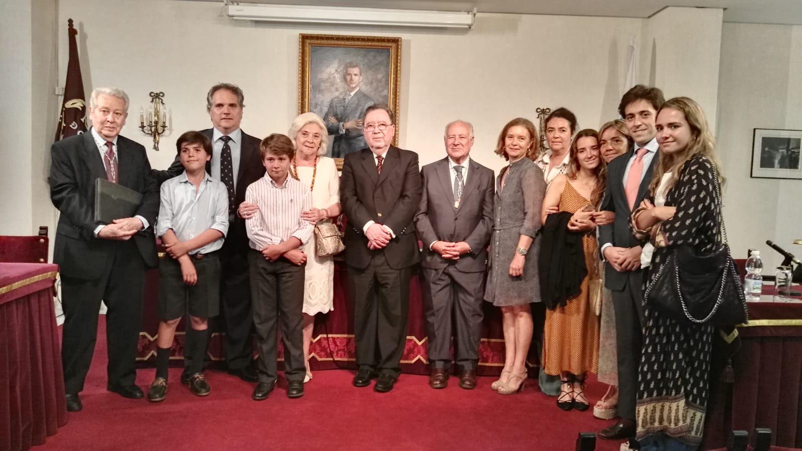 Don Jaime Bachiller. Familia y Academia