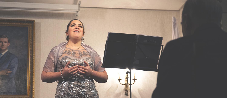 Soberbio concierto de Navidad de Mariam Guerra