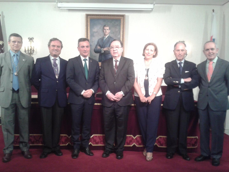 Junta Académica con el Rector Universidad Cádiz